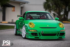 Porsche 911 GT3 RS on HRE wheels