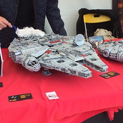Star Wars Days Legoland Billund 2015 (Corvin Stichert) Tags: star lego walker fist empire stormtrooper 501st imperial wars vaders atat billund legoland hoth moc clonetrooper