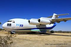 MDD YC 15A n° CX001 ~ N15YC (Aero.passion DBC-1) Tags: usa museum aircraft aviation musée preserved edwards avion afb mdd yc15 aeropassion dbc1 préservé circlecentury