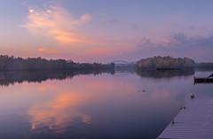 _DSC0275-Pano (johnjmurphyiii) Tags: 06416 autumn clouds connecticut connecticutriver cromwell dawn originalnef riverroad sky sunrise tamron18270 usa johnjmurphyiii