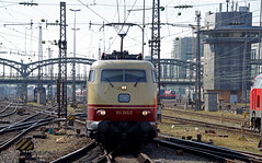 103 245 München Hbf (marcwichels) Tags: eisenbahn lok