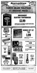 1970 Korvettes Christmas ad (albany group archive) Tags: albany ny christmas shopping ads korvettes department store