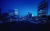 Blue Hour Tokyo (hidesax) Tags: bluehourtokyo tokyostation marunouchi tokyo japan cityscape nightscape hidesax sony a7ii voigtlander 10mm f56