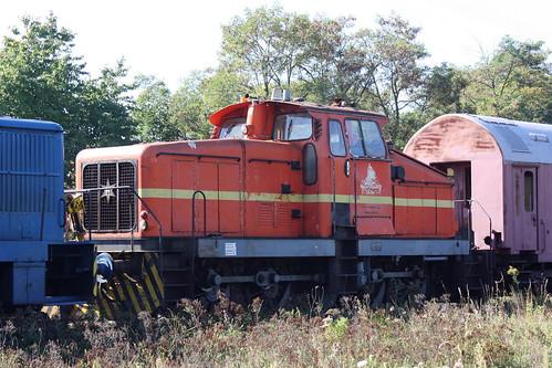 Ehemalige Lok 2 der K+S Kali GmbH in Klostermansfeld