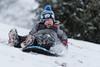 Sledding (Vincent1825) Tags: dfa70200mm pentax sledding snow