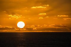 a beautiful evening (-gregg-) Tags: sunset sun ocean cruise clouds rays beautiful sky