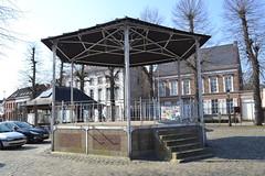 Muziekkiosk, Moerzeke (Erf-goed.be) Tags: muziekkiosk kiosk dorpsplein moerzeke hamme archeonet geotagged geo:lon=41529 geo:lat=51063 oostvlaanderen