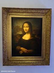 Portrait de Mona Lisa, XVIème siècle, Copie d'après Léonard de Vinci (Musée des Beaux Arts de Quimper (m.lebel) Tags: geluck léonarddevinci exhibition exposition lemuséeenherbe paris france iledefrance monalisa portrait muséedesbeauxartsdequimper huilesurtoile