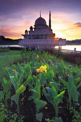 FAITH HOPE AND HEART... (Kamaruz Zaman) Tags: canonphotography canon canon5dmk3 landscapes leecpl landmark putrajaya malaysia slowshutter sky singhray scenery sunrises singhrayfilter