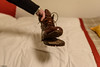 la fine delle timberland di PG (Clay Bass) Tags: 28mm bernina timberland d750 hotel natural night nikon shoes winter