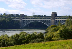 The Britannia Bridge (Snapshooter46) Tags: britanniabridge anglesey menaistraits robertstephenson civilengineer a5 combined railandroad bridge