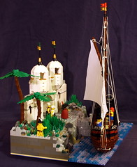 Side view (Beorthan) Tags: bobs yacht montoya victoriaisland lego
