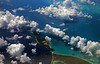 The blue marble (Robyn Hooz) Tags: blue marble nuvole mare caraibi bahamas aerial view clouds ombre verde green reef barriera