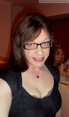 December 2016 (emilyproudley) Tags: crossdresser cd tv tvchix tranny trans transvestite transsexual tgirl tgirls convincing dress feminine girly cute pretty sexy transgender xdresser gurl tights glasses indoor