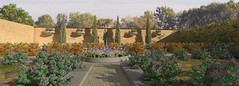 parterres sector and flower bed with central path_4