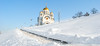 Church in Samara (free3yourmind) Tags: самара samara russia church stairs winter snow cold orthodox hill