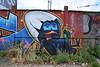 Calimero (HBA_JIJO) Tags: hero calimero district76 76 rouen france graf graffiti hbajijo streetart art urban charactere spray peinture painting wall mur petard join cigarette boire litre