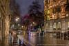 The London Eye from Craven Street (Splendid What) Tags: cityscape corinthiahotel cravenstreet london londoneye longexposure night nightscene nightshot rain riverthames theplayhouse wet northumberlandavenue