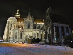 Kosice, Slovakia in winter (traveltipy.com) Tags: kosice slovensko slovakia night church dom hlavna kaplnka
