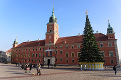 Warsaw, Poland - Happy New Year ! (GlobeTrotter 2000) Tags: 2017 castle christmas europe eve nye new poland square tree warsaw year zamkowi place tourism travel visit royal
