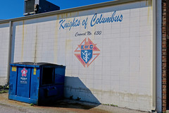 Knights of Columbus, Washington, IN (Robby Virus) Tags: washington indiana in knights columbus kofc council 630 fraternal organization sign signage