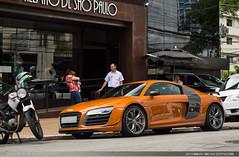 R8 G... Plus (Andre.Siloto) Tags: audi r8 v10 plus orange laranja ctbaexotics coupe exotic car são paulo sp bra br brasil brazil nikon d3200 worldcars