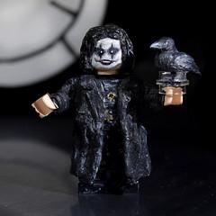 Custom Lego Eric Draven (The Crow) (assui88) Tags: crow ericdraven brandonlee lego custom customlego minifigure legominifigure horror movie comic thecrow