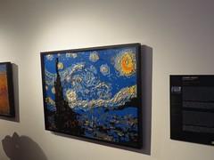 IMG_3729 (Ricardo Jurczyk Pinheiro) Tags: vangogh museuhistóriconacional theartofthebrick quadro exposição noiteestrelada lego