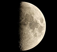 Waxing Gibbous Moon [Explored] (Sarah and Simon Fisher) Tags: astronomy astrophotography moon moonwatch lunar lunarseas craters waxing gibbous night sky canon 600d maksutov 127mm telescope skywatcher primefocus bromsgrove worcestershire uk