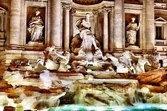 Fontana di Trevi, Rome, Italy. Statue Sculpture Art Fountain Architecture Travel Destinations No People Outdoors Rome Italy Metapolitica (Massimo Virgilio - Metapolitica) Tags: statue sculpture art fountain architecture traveldestinations nopeople outdoors rome italy metapolitica