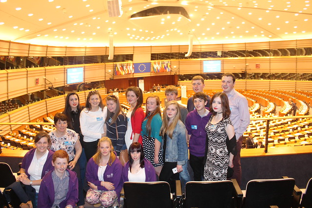 Comhairle na nÓg Visit Brussels