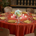 Round Table Setting-Pin Lighting