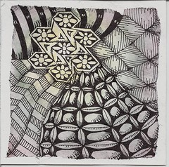 Windmills of my Mind (molossus, who says Life Imitates Doodles) Tags: zia zentangle zendoodle zentangleinspiredart