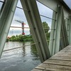 Bridge to NDSM (farflungistan) Tags: instagramapp square squareformat iphoneography ndsm photowalk mobilephoto