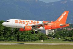 G-EZIW Airbus A319-111 EZY  GVA (Jetstar31) Tags: airbus gva ezy a319111 geziw