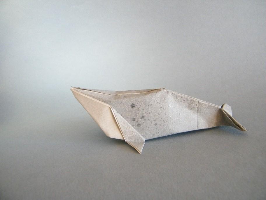 Roda Tags Origami Whale Papiroflexia Ballena Baleia