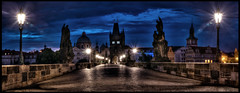 Charles Bridge Sunrise, Prague (s.j.pettersson) Tags: nightphotography bridge panorama vanishingpoint cityscape prague praha cobblestones czechrepublic bluehour charlesbridge hdr fineartphotography karlovmost sunsire hdphotography worldphotography highqualityphotography nikond800 wwwsjpetterssoncom highqualitywallpaper sjpettersson bestcapturesaoi elitegalleryaoi