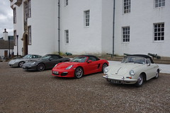 Photo of Four Porsche together
