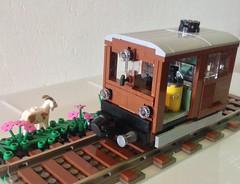 Lego SBB Tm II (maurerdaniel91) Tags: lego goat sbb shunting 7wide