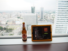 Beer, music and a view!
