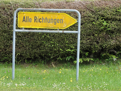 All directions - Alle Richtungen