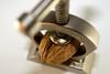 About to crash (marcoschnueriger) Tags: walnut nut nutcracker blur bokeh autumn