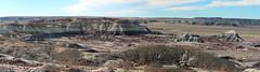 Petrified Forest National Park Panorama #4 (Wormey) Tags: 2016 usa unitedstatesofamerica arizona az petrifiedforestnationalpark canon650d photoshopped stitchedpanorama