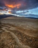 Dry Lake Bed Sunrise (Jeffrey Sullivan) Tags: sunrise dry lake bed cracked earth landscape photography sand dunes death valley national park california usa nature travel canon eos 5dmarkiii road trip photo copyright 2016 jeff sullivan march