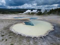 Doublet Pool (Upper Geyser Basin #12) (jimsawthat) Tags: rural wyoming thermalfeature uppergeyserbasin yellowstonenationalpark