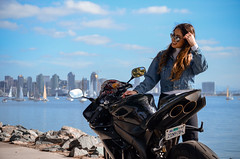 DSC_9226 (Steven Lenoir) Tags: yamaha yamahar1 r1 yammie sportbike sportsbike streetbike teamyamaha moto motorcycle harborisland sandiego sd model downtownsandiego bay