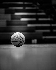 My Shot (RWOPhoto) Tags: blackwhite shadows basketball gym blackandwhite ball light