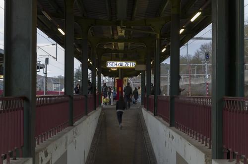 Esch-sur-Alzette railway station, 01.03.2015.