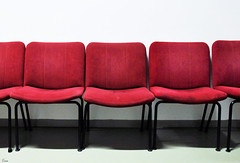 red chairs (TeRo.A) Tags: orimattila kehräämö hotelli tuoli chair hotelliteltta punainen red