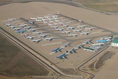 Aircraft graveyard, Teruel (olaborda) Tags: flight flying letl apron parking aricraft plane cementerio aviones en vuelo graveyard teruel